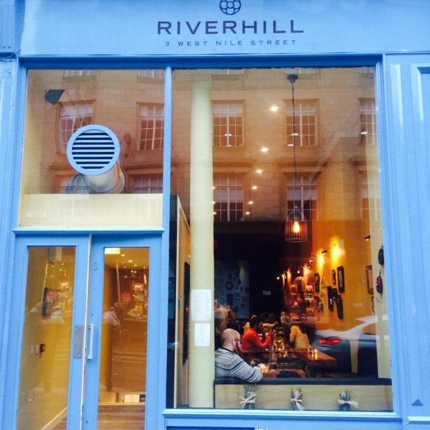 Riverhill's Frontage